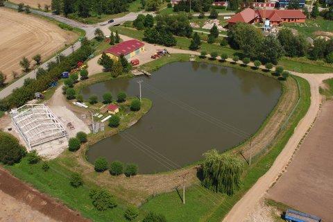 Areál trávníkové školky v Kobylnicích